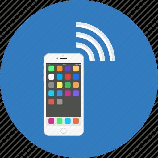 Mobile internet, wifi hotspot, wifi network, wifi zone, wireless network icon - Download on Iconfinder