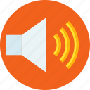 audio, music volume, sound, volume control, volume speaker icon
