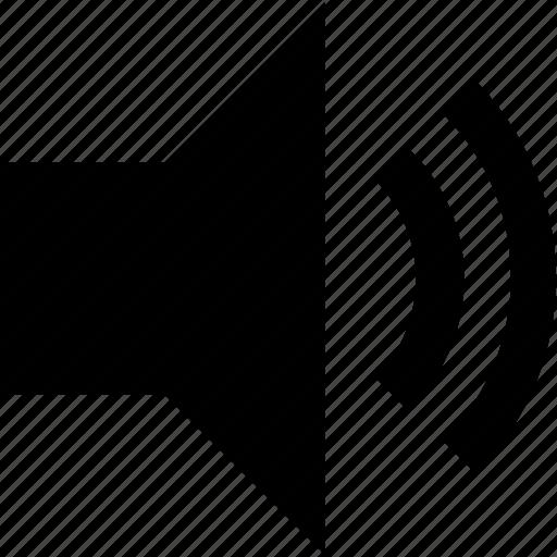 audio, music volume, sound, volume control, volume speaker icon
