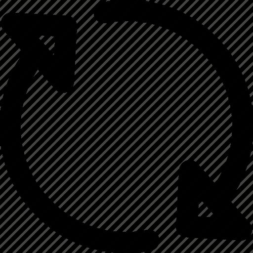 refresh, reload, sync, synchronization, update icon