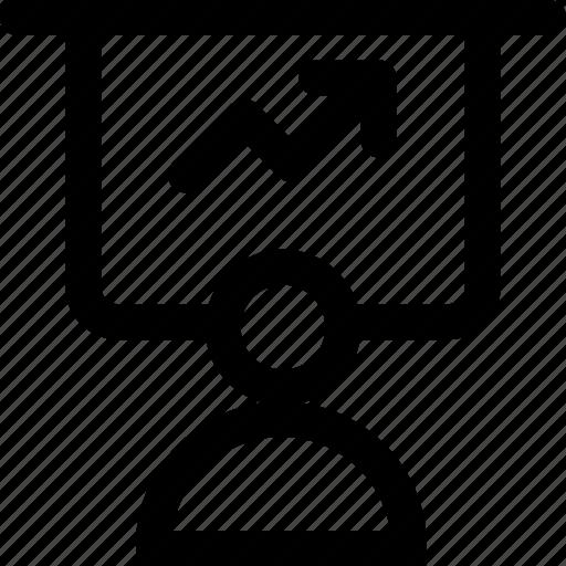 Analysis, business analysis, business graph, graphic presentation, statistics icon - Download on Iconfinder
