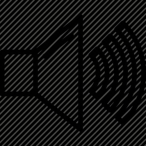Audio, music volume, sound, volume control, volume speaker icon - Download on Iconfinder