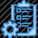.svg, checklist, clipboard, gear, options, planner, project management