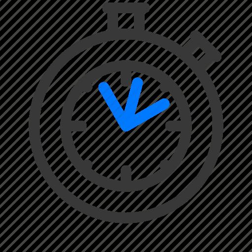 estimate, estimated, point, points, stopwatch, time, velocity icon