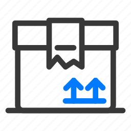 box, crate, minimum, package, product, shipping, viable icon