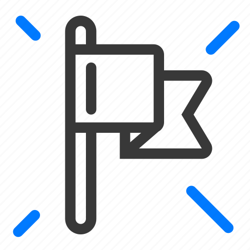 agile, flag, milestone, release, scrum, story, type icon