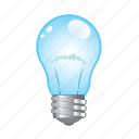 bulb, electric, idea, light, power icon