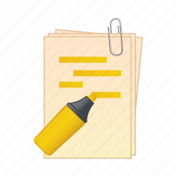 documents, file, format, paper, pen, text icon