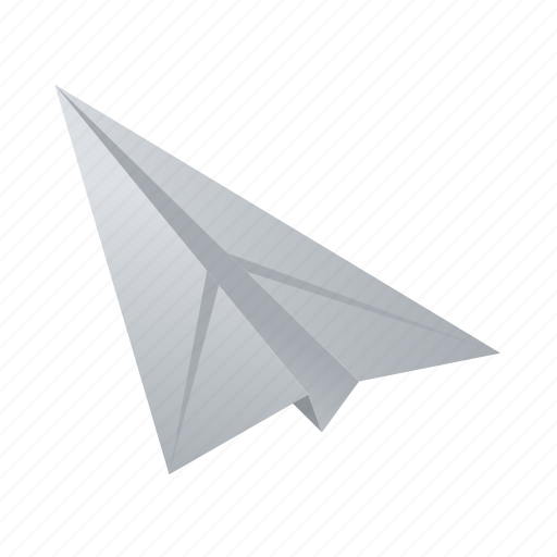 airplane, document, paper, plane, sheet icon