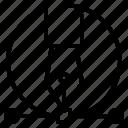 design, fountain, pen, tool icon