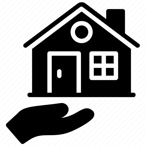home protection, home security, property insurance, real estate, real estate offer icon