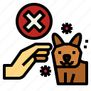 animal, corona, covid, hand, pet, touch, virus