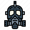 gas, mask, protection, safety, toxic