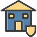 building, home, house, protection