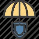protection, shield, umbrella