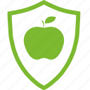 agricultural, apple, flat, fruit, plants, protection icon