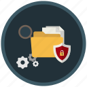 base, data, files, protection, security icon