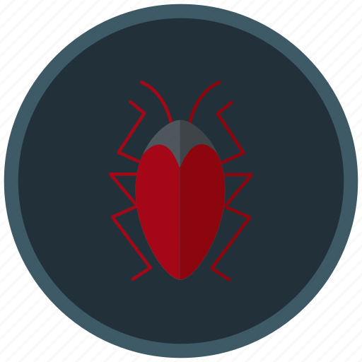 bug, infected, insect, troubels, virus icon