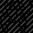 avatar, child, father, guardian, protection, raining, umbrella icon