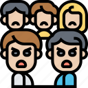 disagreement, quarrel, anger, people, argument