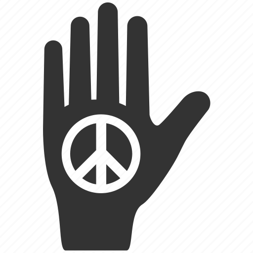 civil rights, expression, hand, peace, protest, sign, symbolic icon