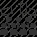 crowd, mob, protest, protester, riot, strike, rebel