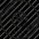 art, disc, music, photo, photography, sound, vinyl icon