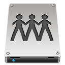 drive, fileserver icon