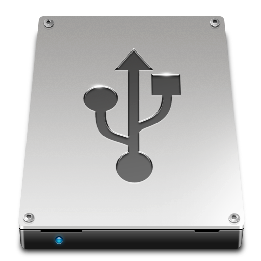 disk, usb icon