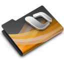 dark, overlay, powerpoint icon