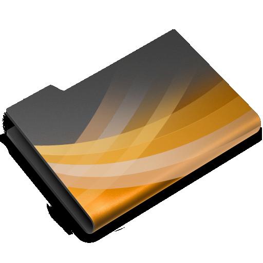 dark, powerpoint icon