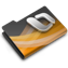dark, overlay, powerpoint icon