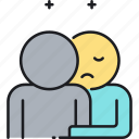 dependent, dependent personality disorder, disorder, personality, personality disorder icon