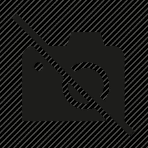 ban, camera, no camera, no camera phone, no picture, prohibited icon
