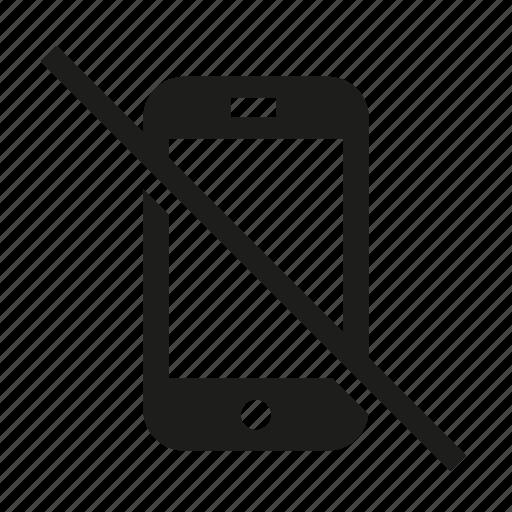 ban, no mobile, no phone, no phones, phone, prohibited icon