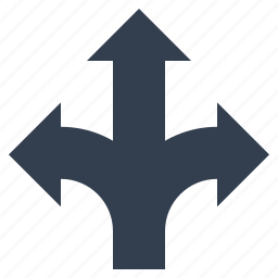 arrow, direction, traffic icon