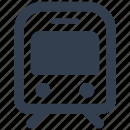 metro, traffic, train, transportation, underground icon