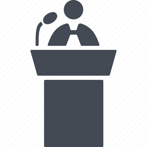 audio, public cpeech, speaker, speech icon