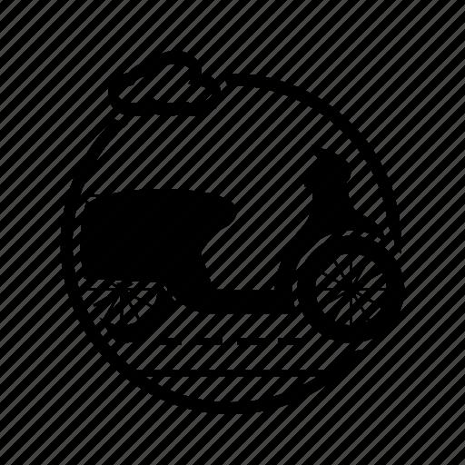 motorscooter, road, transport, transportasi16, transportation, vehicle, vespa icon