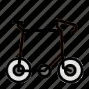 bike, public transport, traffic, transportation, travelling, vehicle icon