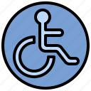 disability, disabled, handicap, sign, signaling, wheelchair