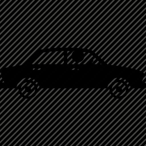 car, driver, phone icon