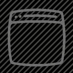 dekstop, pc, screen icon