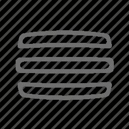 fog, line, screen icon
