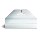 cream, hdd icon