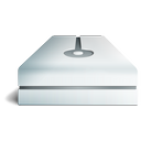 hdd, metal icon