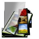 mes, vert, videos icon