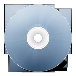 avant, bleu, cd icon