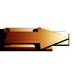 orange, suivant icon