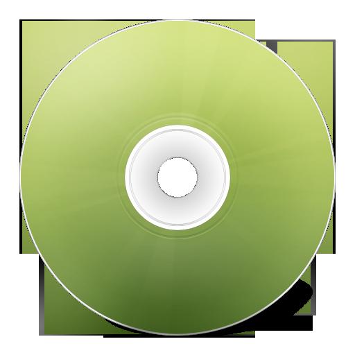 avant, cd, vert icon
